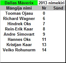 Dallas Mäverix